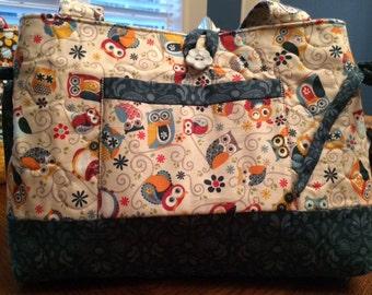 Floral Print Handbag