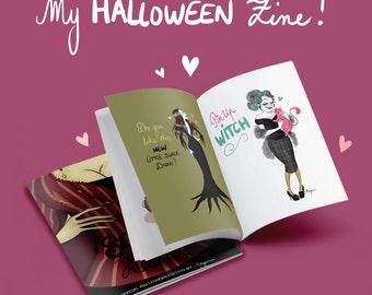 Halloween Series Zine 1# - Illustrations