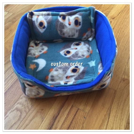 Guinea Pig Snuggle Bed By Patspiggycreations On Etsy