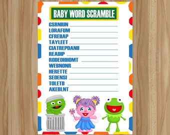 Items similar to sesame street halloween note pads set of 5 excellent halloween party favors - Sesame street baby shower ...