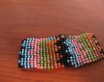 Peyote Zigzag Bracelet