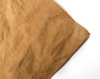 Silhouette Faux Leather Paper - Natural