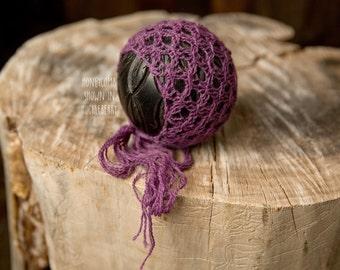 Honeycomb Newborn Bonnet