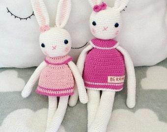 Handmade Rabbit Dolls Newborn/Kids