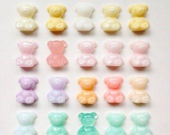 Gummy Bear Cabochons