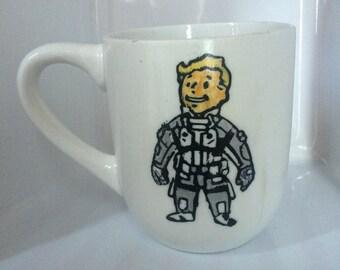 Stealth Suit MK II Coffee Mug