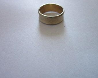 Vintage 10 K Gold Filled Wedding Band Ring