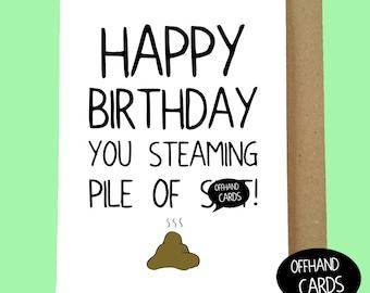 funny rude birthday card love card customisable lesbian, Birthday card