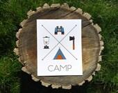 CAMP: Arrow Print (8x10)