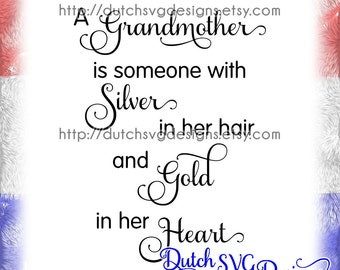 Text cutting file Grandmother, in Jpg Png Studio3 SVG EPS DXF, cricut svg, silhouette cut file, grandmother svg, grandma svg, granny svg
