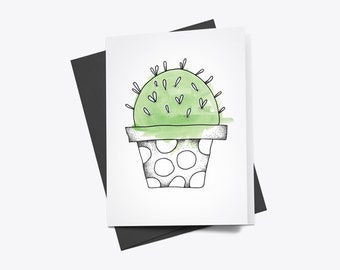 Copiapoa Cactus Greeting Card