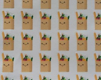 Kawaii Grocery Bags : B16