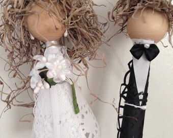 Centerpiece Bride and Groom