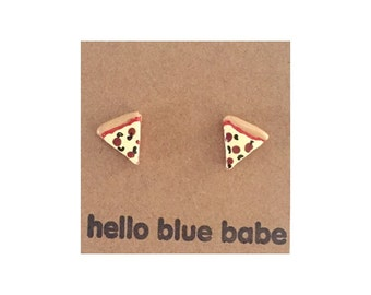 Pizza/Pepperoni and Cheese pizza Earrings