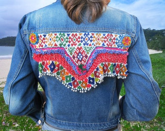 Bohemian Dream - Denim Jacket - Size S