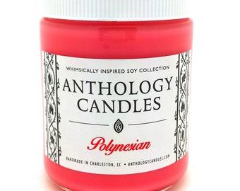 Polynesian Candle - Anthology Candles - Disney Candles - 8 oz Jar