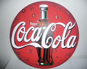 Coke pub table