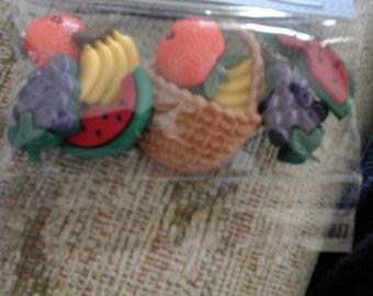 fruit salad buttons