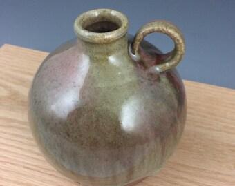 Ceramic Jug, Pottery, Bottle, Wood Fired