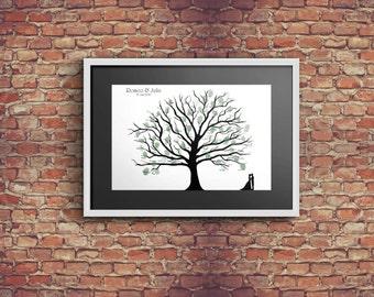 Fingerprint-Guestbook Tree