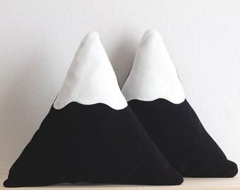 Snowy Mountain Pillow || BIG