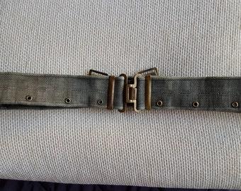 Vintage Military Textile Belt