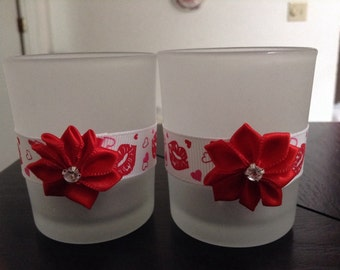 Romantic Mini Votive Holders Sets