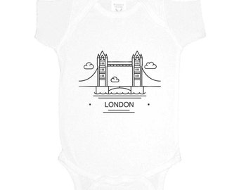 Tower Bridge London Onesie