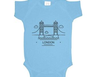 Tower Bridge London Onesie