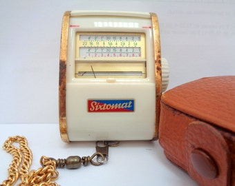 Sixtomat, Light Meter, Light Exposure Meter, Photo Camera, Made in West Germany, 60s