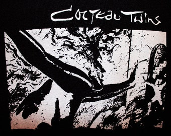 Cocteau Twins T-shirt ~~FREE SHIPPING~~4AD Dead Can Dance Siouxsie