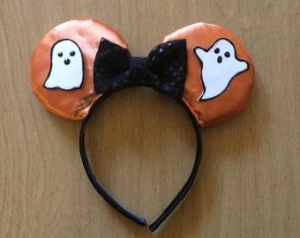 ghost halloween minnie ears