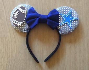 Dallas Cowboys Minnie Mouse ears