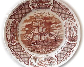 Meakin Fair Winds, Friendship of Salem Porcelain Plate