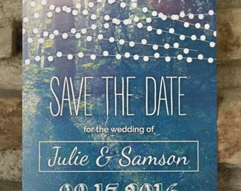 Wedding Save the Date Invitations