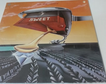 New Sealed- Sweet- Off the record. Vinyl Record Album . Capital STAC 11636 - (1977)