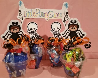 Halloween Filled candy cups