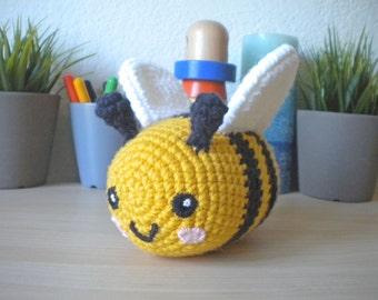 Crochet Baby Bumblebee Stuffed Animal