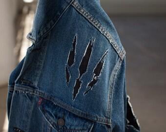 Wild Hunt, Witcher - Mens Denim Jacket
