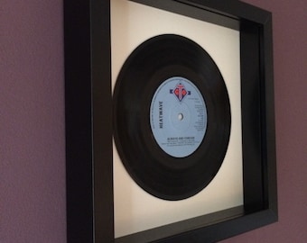 "Heatwave ""Always and Forever"" Framed Vinyl Gift"