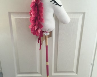 Handmade Unicorn Hobby Horse