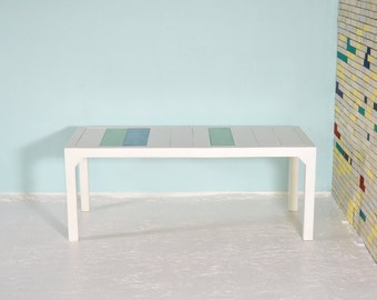Dining table from recycled lumber ALT MOABIT
