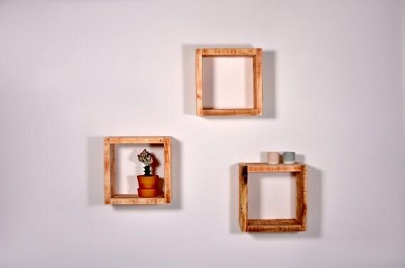 wall shelf bedside table cube hommert by johanenlies on etsy