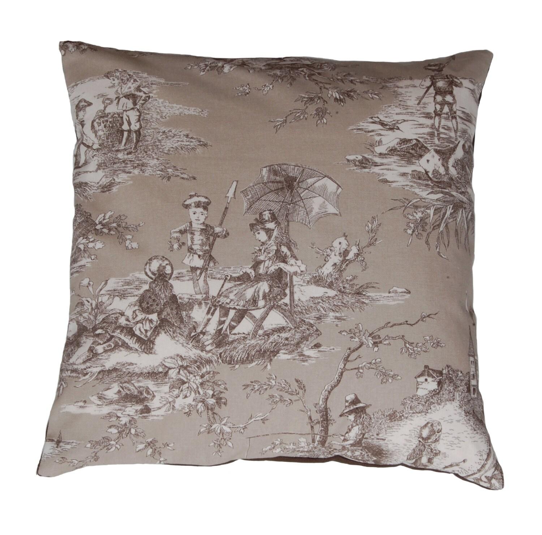 bruni petit deco pillow cushion coussin toile de jouy