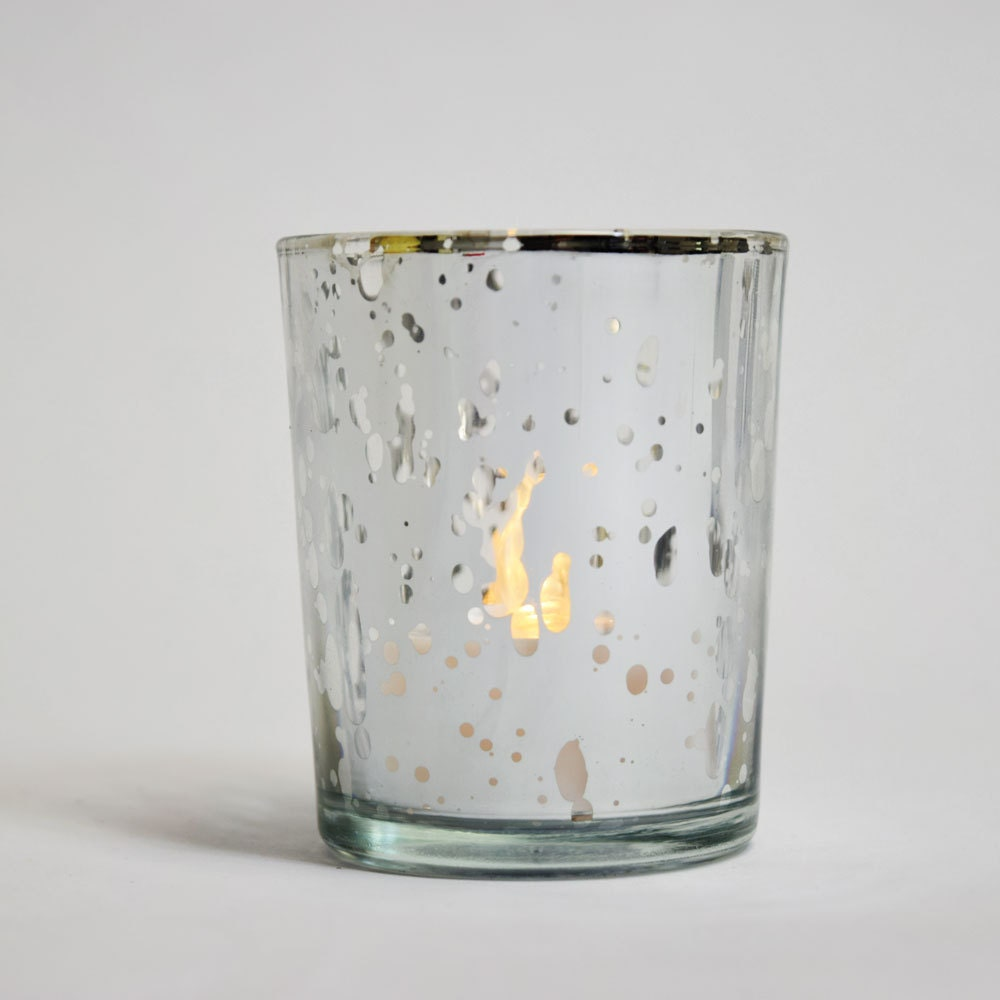 mercury glass votive tealight candle holder by With what kind of paint to use on kitchen cabinets for glass tea light candle holders