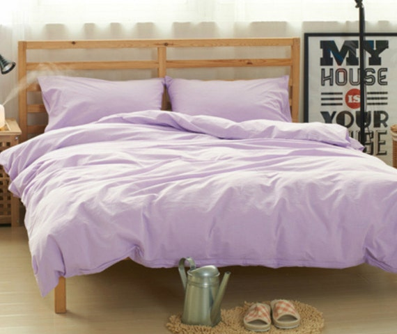 Lavender Purple Duvet Cover Purple Bedding By