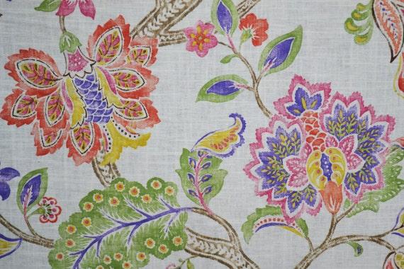 Jacobean Fabric by the Yard P Kaufmann Garden by ...