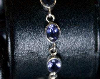 Classic CZ Silver Bracelet