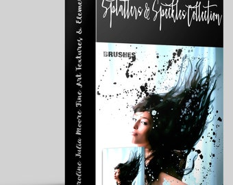 Splatters and Speckles Collection Of Digital Resources