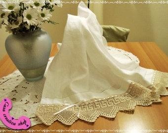 linen towels couple